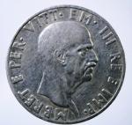 D/ Casa Savoia. Vittorio Emanuele III. Albania. 1939-1943. 10 lek 1939 A. XVII. AG. Pag. 991. BB+. R.