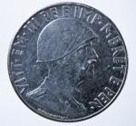 D/ Casa Savoia. Vittorio Emanuele III. Albania. 1 Lek 1939. Magnetico. SPL. NC.