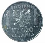 R/ Casa Savoia. Vittorio Emanuele III. Albania. 0,20 Lek 1941 anno XIX. qSPL.