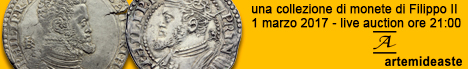 Banner Artemide Aste - Una raccolta di Filippo II