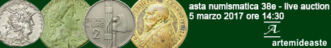 Banner Artemide Aste - Asta Numismatica 38E