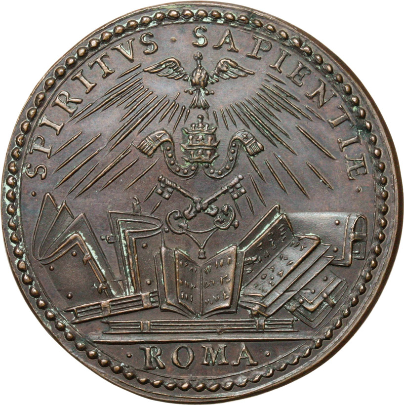 Reverse image of coin 761