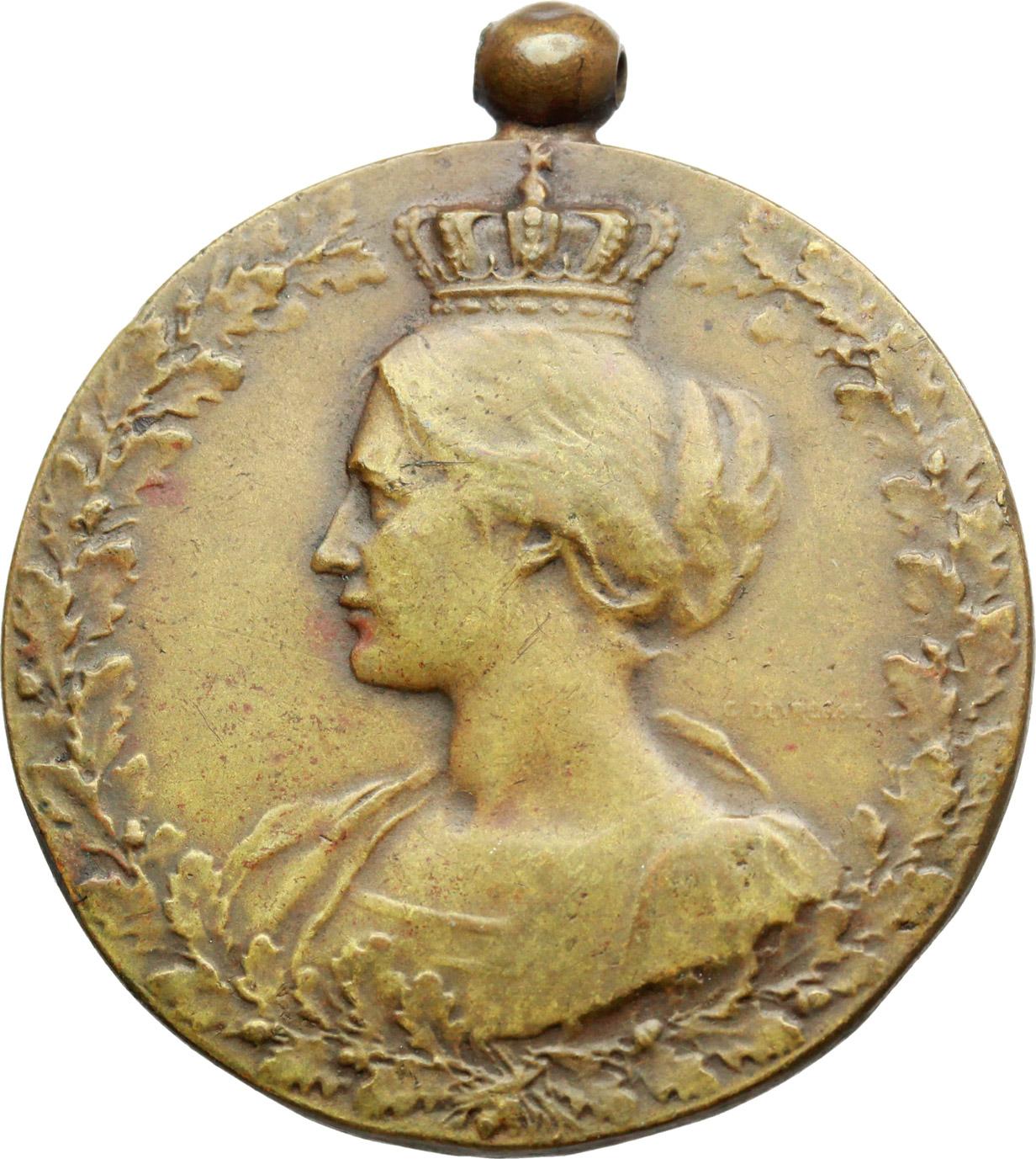 D/  Medaglia en souvenir de sa collaboration. 1914 CN 1918.     AE.   mm. 34.50 Inc. M. Zingoni.   BB.