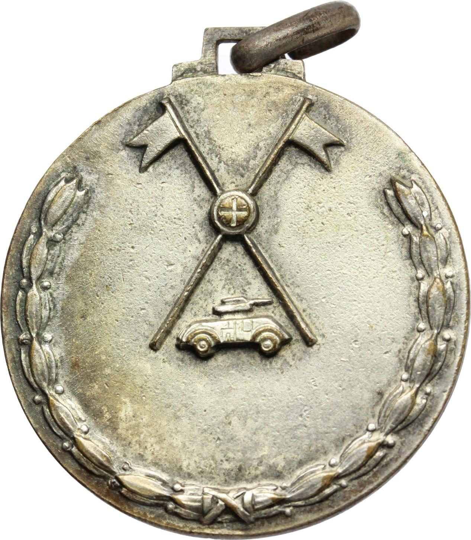 R/ Vittorio Emanuele III (1900-1943). Medaglia Scuola di Cavalleria Blindata Tor di Quinto.     MB.   mm. 35.00    Bel BB.