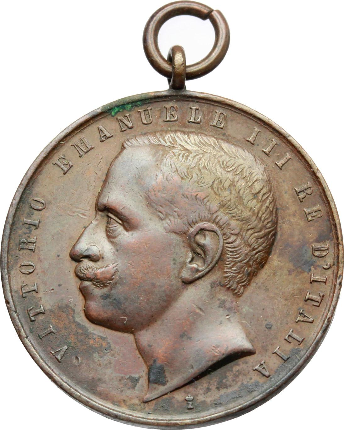 D/ Vittorio Emanuele III (1900-1943). Medaglia Esercito Italiano, Gara di tiro tra sottuficiali.     AE.   mm. 30.50    qBB.