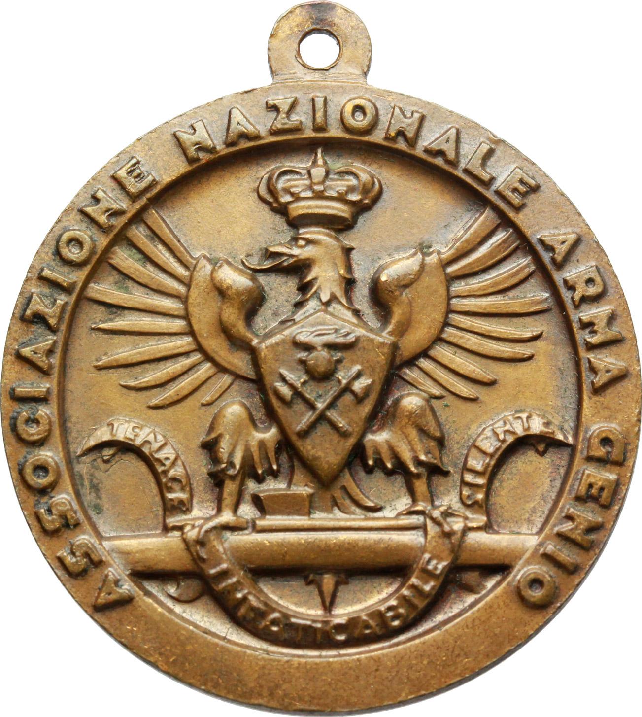 R/  Medaglia Associazione Nazionale Arma Genio. IV adunata dei genieri d'Italia, Firenze, 23-25 5 XIV.     AE.   mm. 35.50    SPL.
