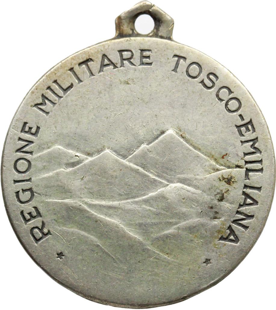 R/  Medaglia REGIONE MILITARE TOSCO-EMILIANA.     AG.   mm. 25.00    BB+.