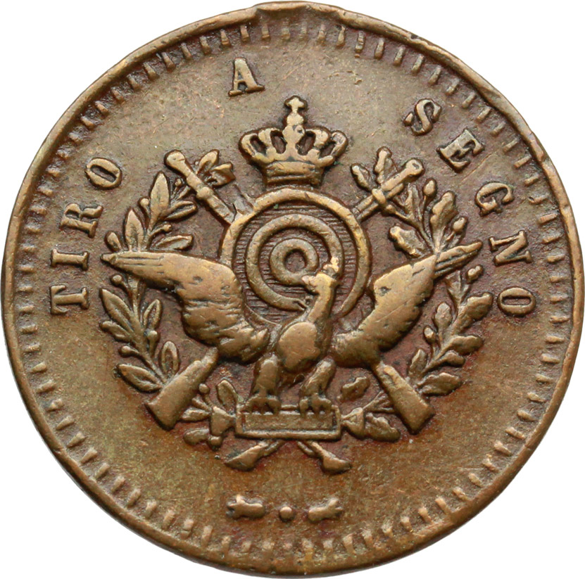 R/ Vittorio Emanuele III (1900-1943). Medaglietta tiro a segno.     AE.   mm. 23.00    qBB.
