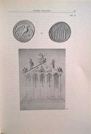 R/ BASTIEN P. – Vitellius et le temple de Jupiter Capitolin: un as inedit. Lugano, 1978. pp. 181–202, ill.
