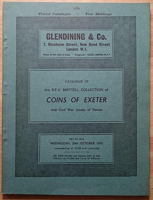 LAC & ADBooks 8: 448 - Glendining & Co , The R P V  Brettell