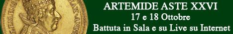 Banner Artemide Aste - Asta XXVI