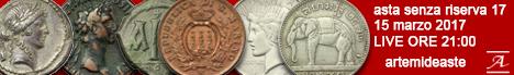 Banner Artemide - Asta numismatica senza riserva #17