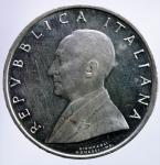R/ Repubblica Italiana. 500 Lire 1974 Marconi. Ag. qFDC.§