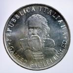 R/ Repubblica Italiana. 500 Lire 1982 Galileo Galilei. Ag. FDC.§