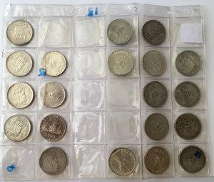 D/  Lotto di 20 monete da 500 lire.     AG.