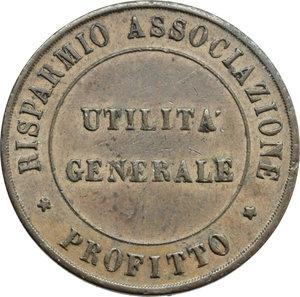 D/ Firenze. Lega Economica Alimentaria. Tessera.     AE.      qSPL.
