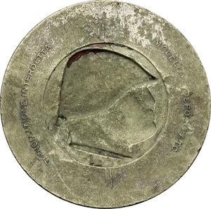 R/  Medaglia G.I.L. CREDERE OBBEDIRE COMBATTERE. Al R/ Testa del Duce in incuso.     MI.   mm. 38.00    BB.