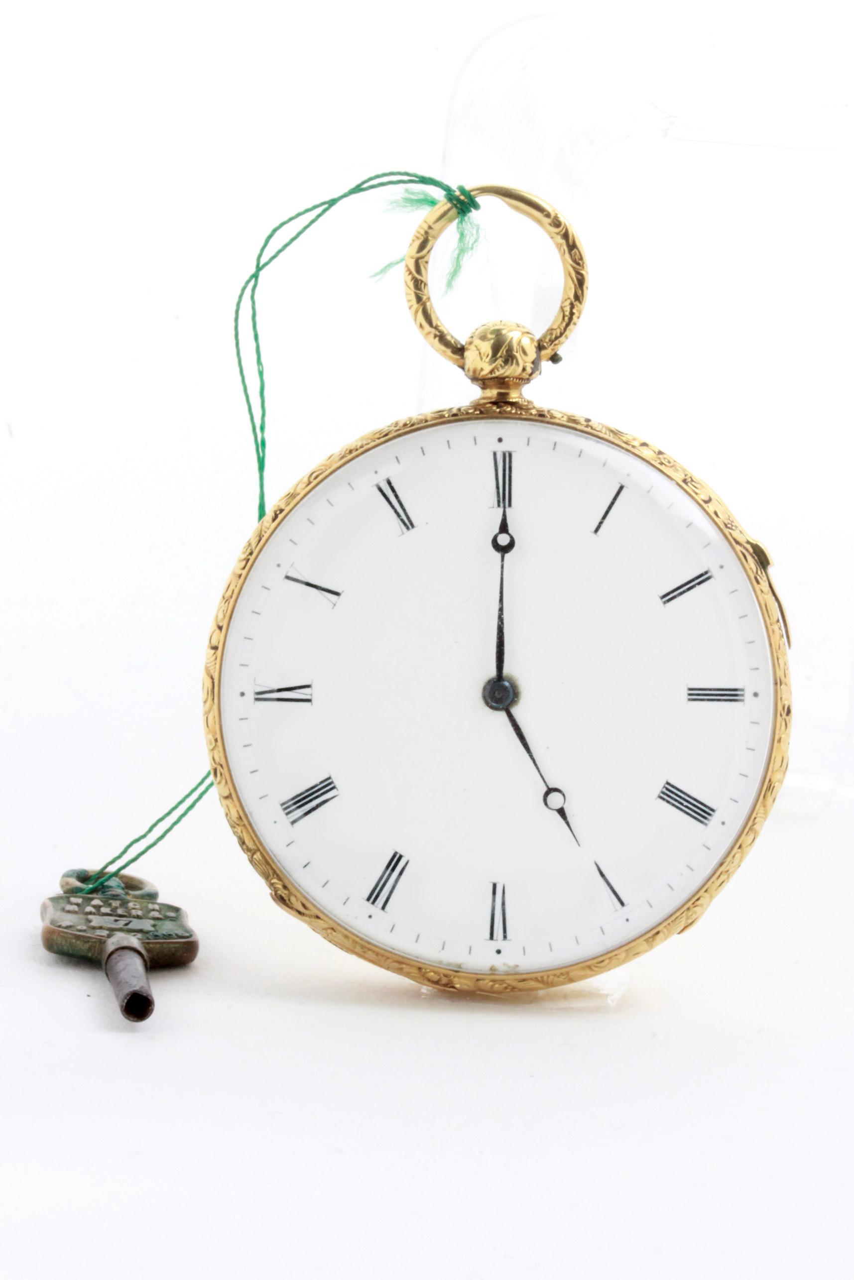 D/ HUIT orologio da tasca con ripetizione ore e quarti , , 43 mm. HUIT orologio da tasca con ripetizione ore e quarti  (seriale 7927 4930). Cassa oro. 43 mm.