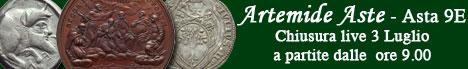 Banner Artemide Aste - Asta 9E