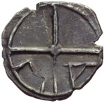 Reverse image of coin 9001