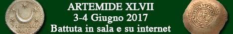 Banner Artemide XLVII - Asta di importanti monete classiche e medievali