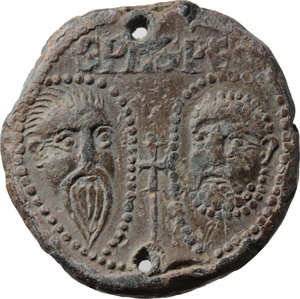 Reverse image of coin 672