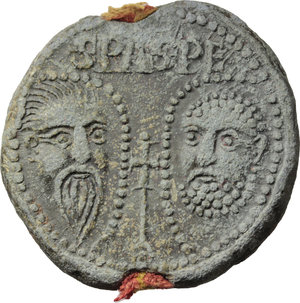 Reverse image of coin 674