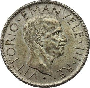D/ Regno di Italia. Vittorio Emanuele III (1900-1943). 20 lire 1928 A.VI.    Pag. 673   Mont. 67. AG.    R.  qSPL.