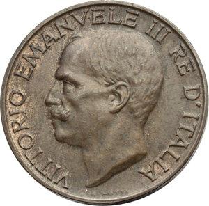 D/ Regno di Italia. Vittorio Emanuele III (1900-1943). 10 centesimi 1919.    Pag.864   Mont.328. AE.    RR.  SPL.
