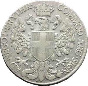 R/ Colonia Eritrea. Vittorio Emanuele III (1900-1943). Tallero 1918.    Pag.956   Mont.434. AG.    R.  BB.