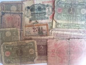 D/ Cartamoneta. Germania. Lotto di 16 banconote in modeste conservazioni.s.v