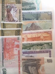 D/ Cartamoneta. Perù.Lotto 11 Banconote tutte in alta conservazione.s.v