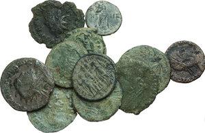 obverse:  Impero romano. Da Valeriano I a Giuliano l Apostata. Lotto di 5 antoniniani + 6 follis da classificare