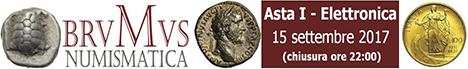 Banner Brumus Numismatica Asta I