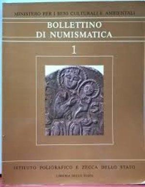 obverse: AA. VV. - BOLLETTINO DI NUMISMATICA n. 1. Roma, 1983. pp. 235, 830 ill. contiene: TRAVAINI L. - Il ripostiglio di Oschiri.