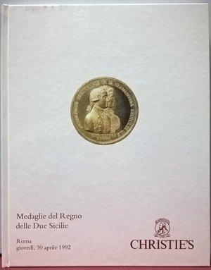obverse: AA. VV. - Christie's Roma. Medaglie del Regno delle Due Sicilie. Catalogo della vendita, Roma, 30 Aprile 1992