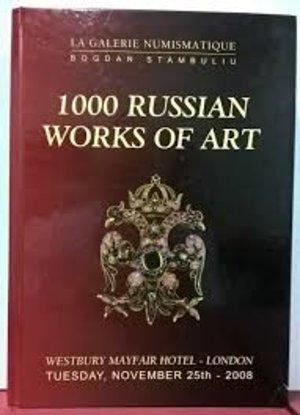 obverse: LA GALERIE NUMISMATIQUE BOGDAN STAMBULIU - 1000 Russian works of art. London, 2008. pp. 472, numerose ill. col.