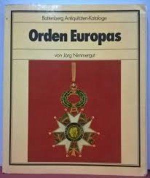 obverse: NIMMERGUT Van J. – Orden Europas. Munchen, 1981. pp. 208, ill.