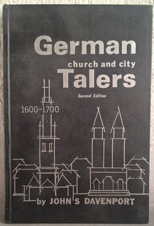 obverse: DAVENPORT J. S. – German Church and city talers. 1600-1700. Chicago, 1975, pp. 351, ill.