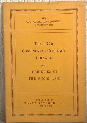 obverse: NEWMAN E. P. – The 1776 continental currency coinage. New York, 1952. pp. 20, tavv. 6.