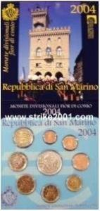 D/ San Marino. Set Euro 2009 con 08 monete più una in argento.