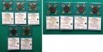 R/ Mini collezione F - Regno d'Italia, Vittorio Emanuele 3° (1900-1943). Interessante serie completa dei 10 e 5 centesimi IMPERO 1° e 2° tipo, inclusi anni rari.  - 10 centesimi IMPERO (1° tipo) dal 1936 (NC) al 1939. Tutte FDC, una sola qFDC / SPL / FDC. - 10 centesimi IMPERO (2° tipo) dal 1939 al 1943. Tutte FDC, una sola qFDC. - 5 centesimi IMPERO (1° tipo) dal 1936 (R1) al 1939. Conservazioni: FDC / BB+ / qFDC / FDC. - 5 centesimi IMPERO (2° tipo) dal 1939 al 1943 (R1). Conservazioni da SPL+ a FDC. Stima (prendendo i valori da catalogo): 380/400 €. Controllare bene foto per tutti i dettagli.