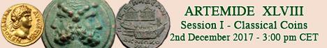 Banner Artemide XLVIII - Classical Coins