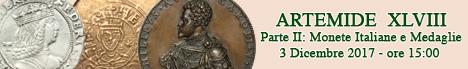 Banner Artemide XLVIII - Monete Italiane