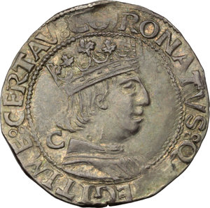 Reverse image of coin 605
