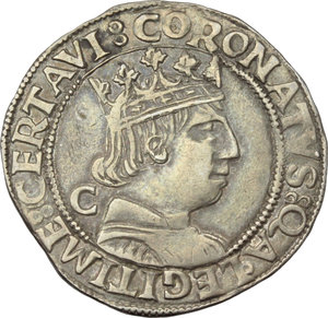 Reverse image of coin 607