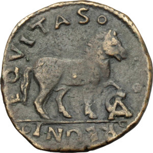 Reverse image of coin 630