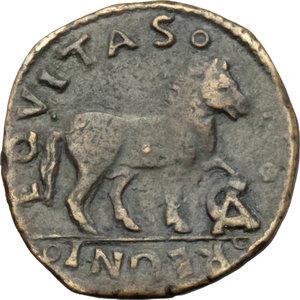 Napoli  Ferdinando I d Aragona (1458-1494) Cavallo con sigla CA (Maestro di Zecca sconosciuto )