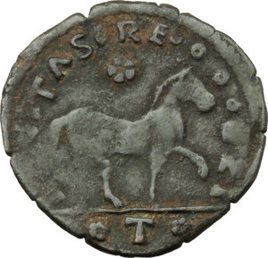 Reverse image of coin 634