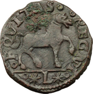 Reverse image of coin 652